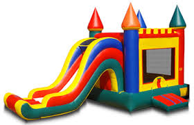 Arch Slide Bounce Castle