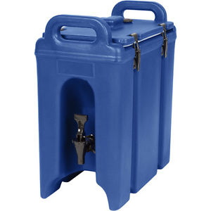 5-Gallon Blue Beverage Holder