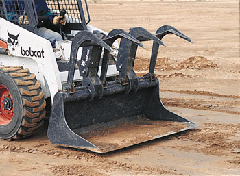 Skidloader Grapple Bucket