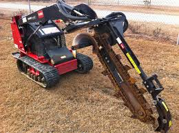 Trencher attachment for Toro Dingo
