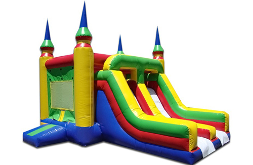 Dual-Lane Bounce Castle
