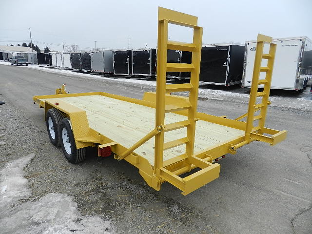 7x18 Heavy Duty without Dove Tail Trailer