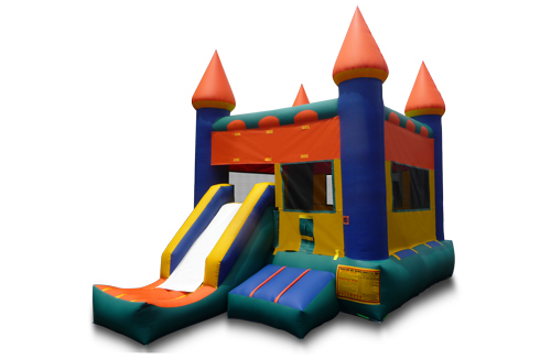 Front Slide Bounce Castle