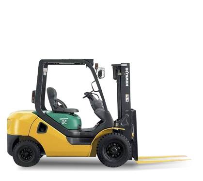 Komatsu Gas or Propane Forklift