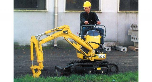 Komatsu Mini Excavator PC09 With Breaker Attachment OPT