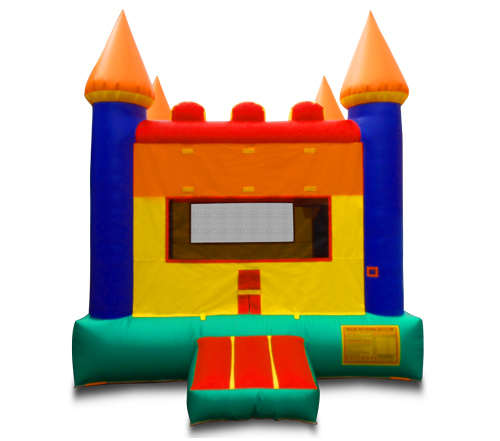 Multi-Color Bounce Castle