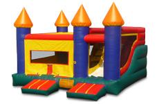 Bounce Castle Inside Slide