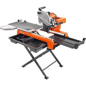 "10"" Husqvarna Tile Saw"