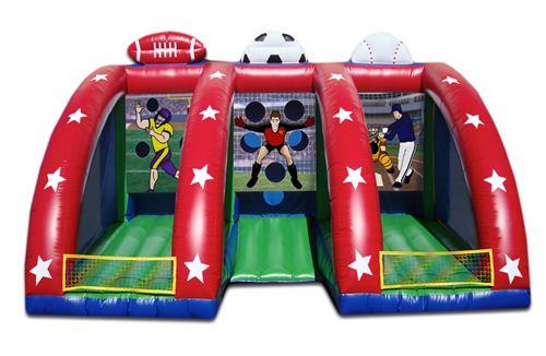 Inflatable Triple Play Bounce